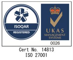 ISMS ISO27001取得