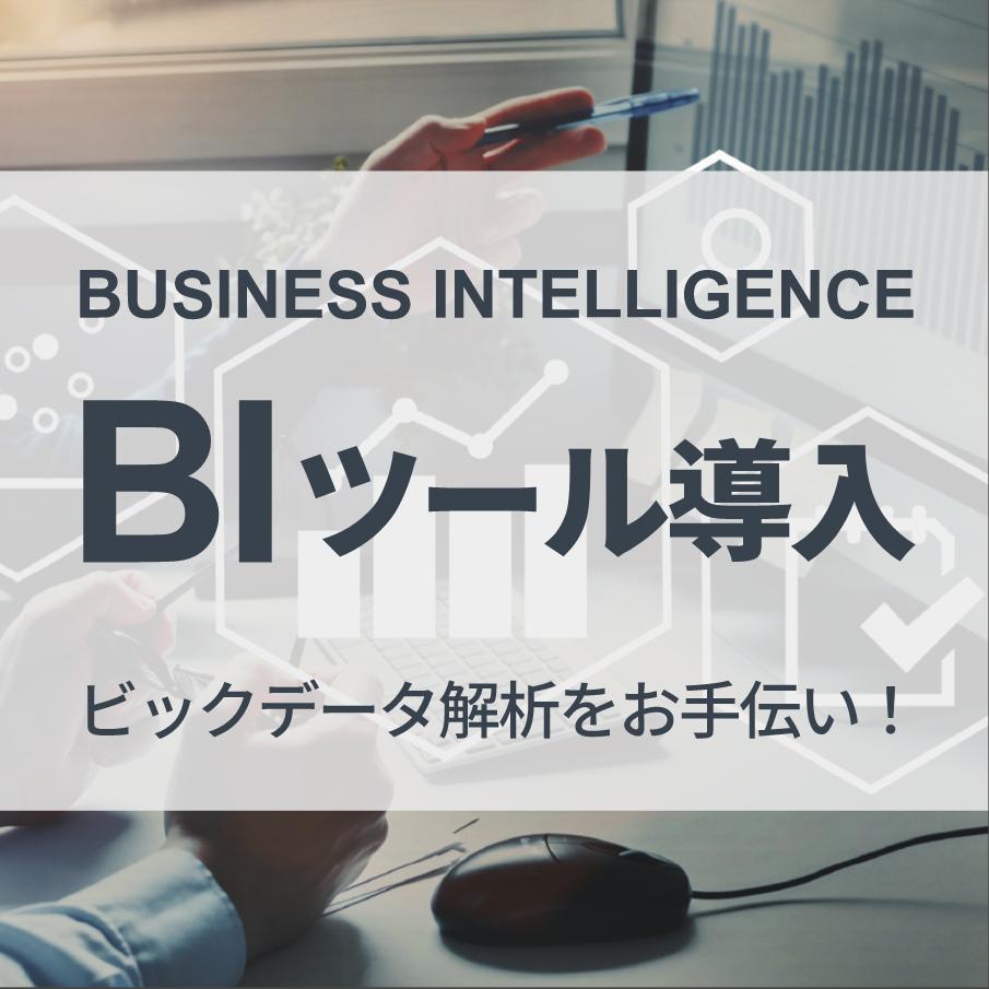 ビジネスインテリジェンス -BI-